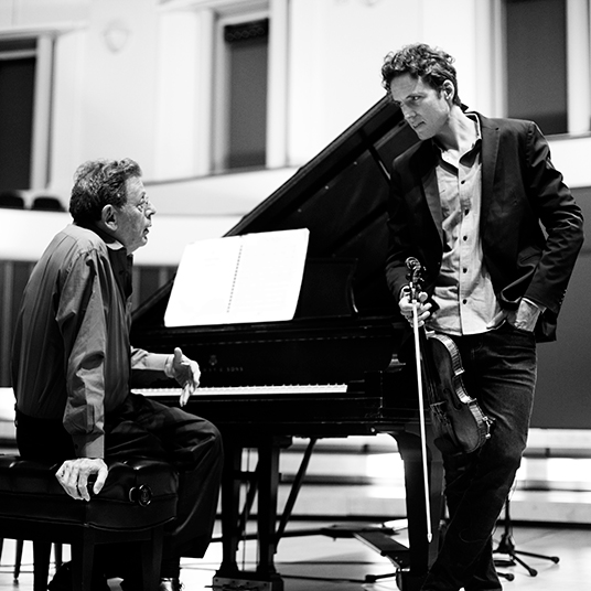 Philip Glass and Tim Fain